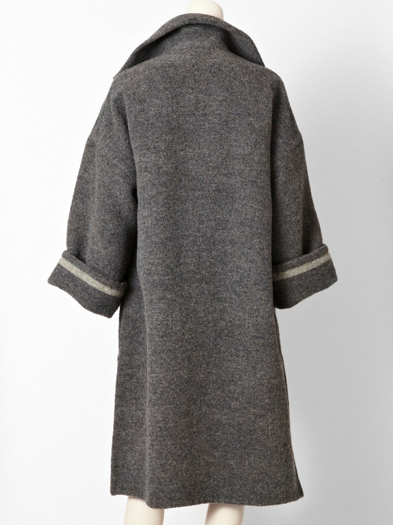 Bill Blass Double Face Wool Coat