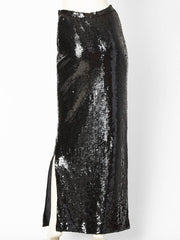 Bill Blass Sequined Evening Skirt
