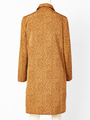 Bottega Veneta Leopard Print Raincoat