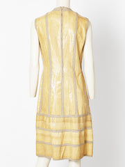 Cobra Skin Belted Dress