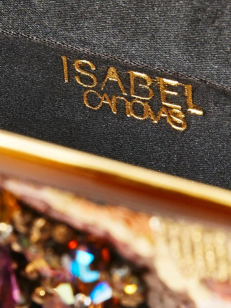 Isabel Canovas Beaded and Sequined Evening Bag