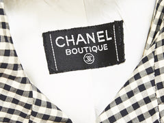 Chanel Gingham Classic Trench
