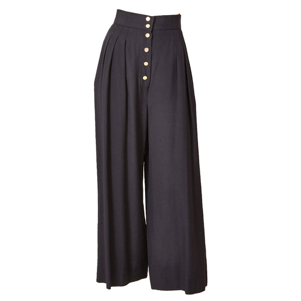 Chanel High Waist Trouser