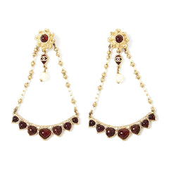 Chanel Triage Drop Earring