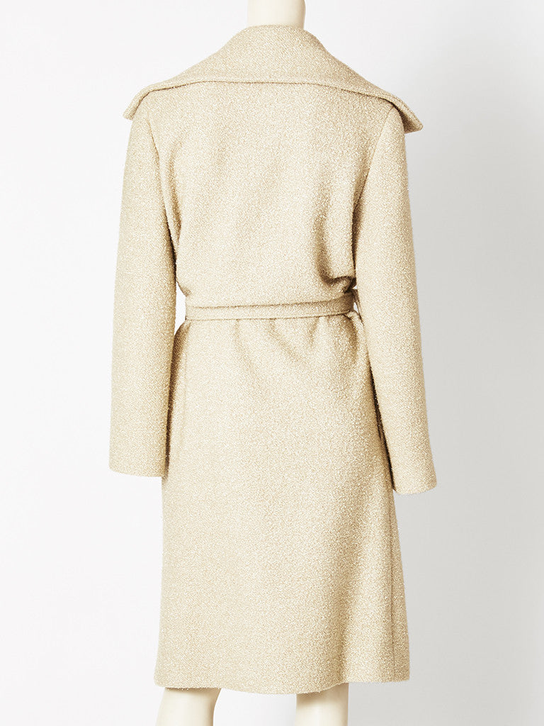 Chanel Belted Wrap Coat