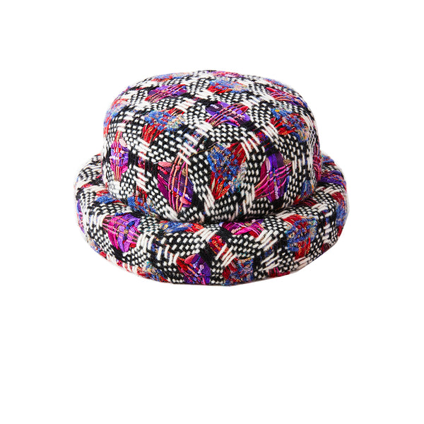 "Chanel Linton Tweed ""Bowler"" Hat"