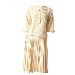 Chloe Ivory Silk Ensemble