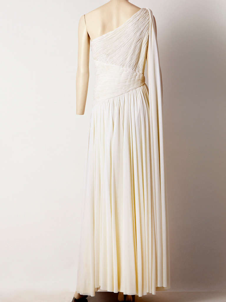 Jacques de Beaucour Grecian Inspired Jersey Gown
