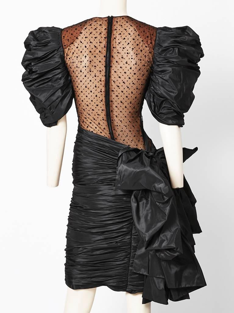 Jacqueline de Ribes Dramatic Cocktail Dress