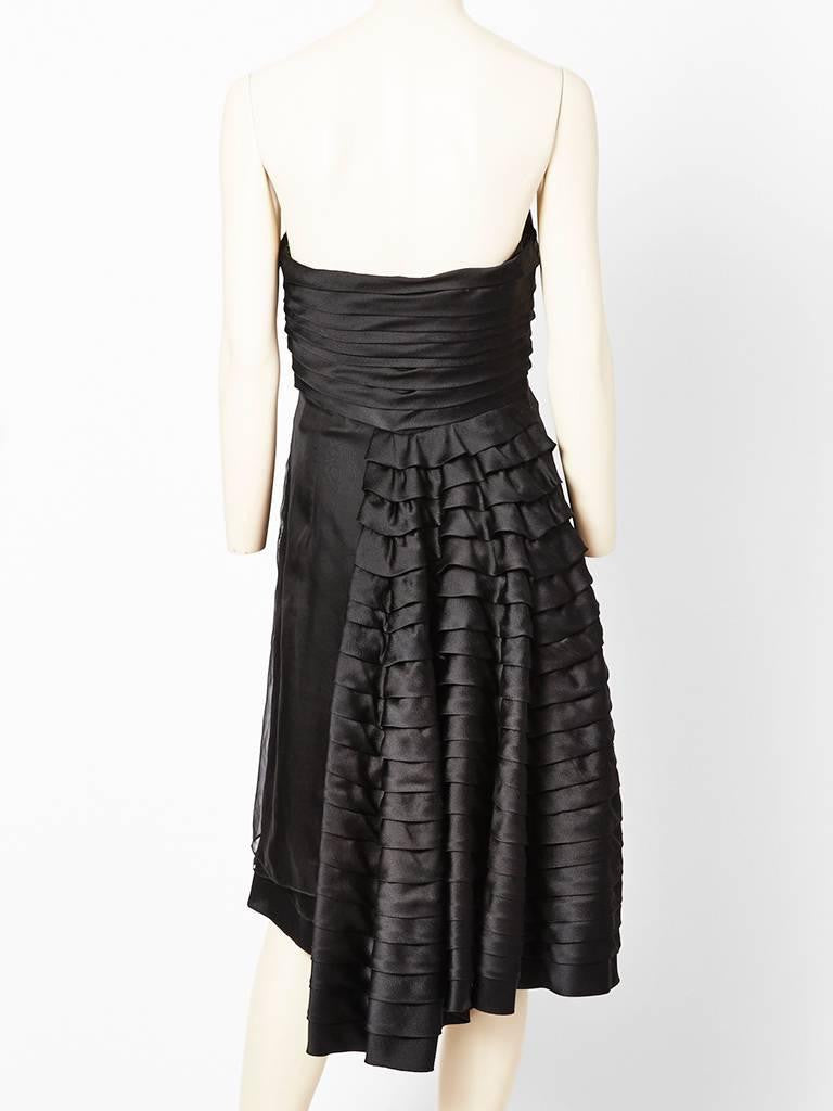 Dior Strapless Cocktail Dress