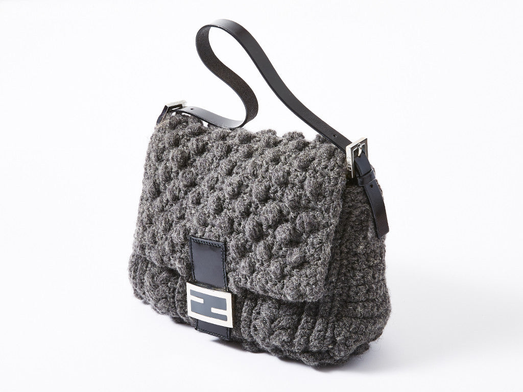 Fendi Crochet Baquette Bag