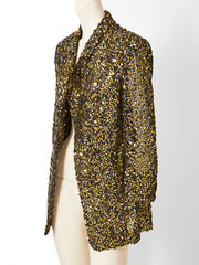 Gianfranco Ferre Sequined Evening Jacket