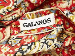 Galanos Paisley Silk Day Ensemble