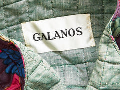 Galanos Three Piece Patterned Georgette Ensemble