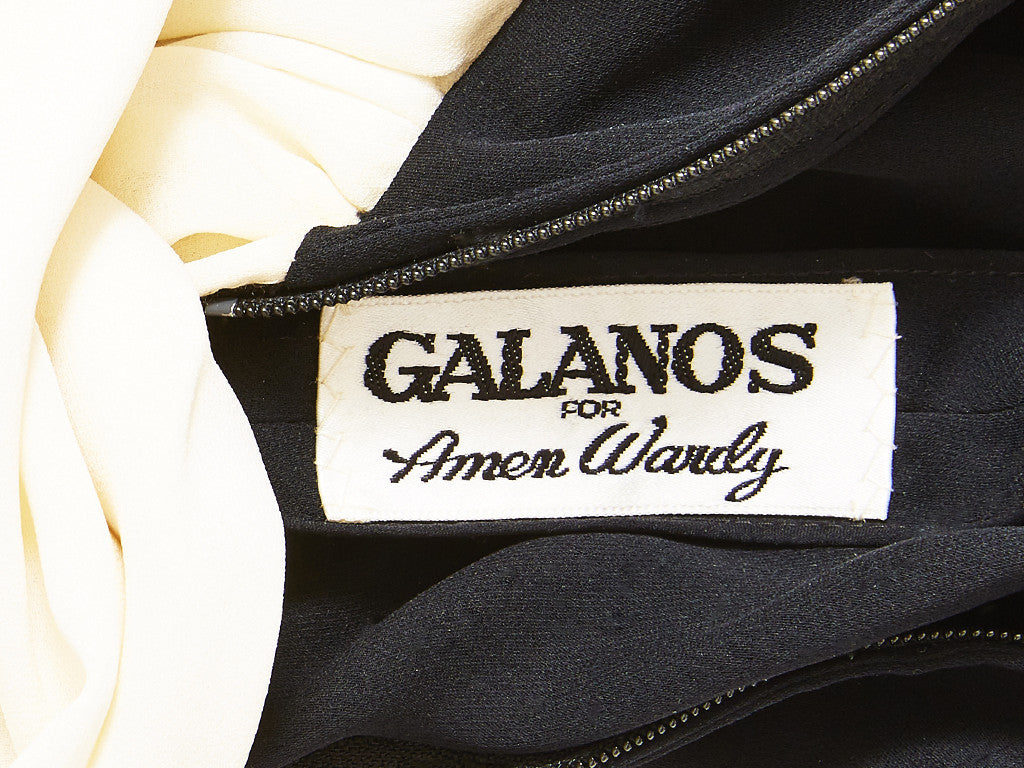 Galanos 40's Inspired Gown