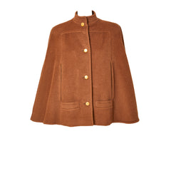 Galanos Camel Hair Short Cape