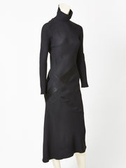 Galliano Bias Cut Gown