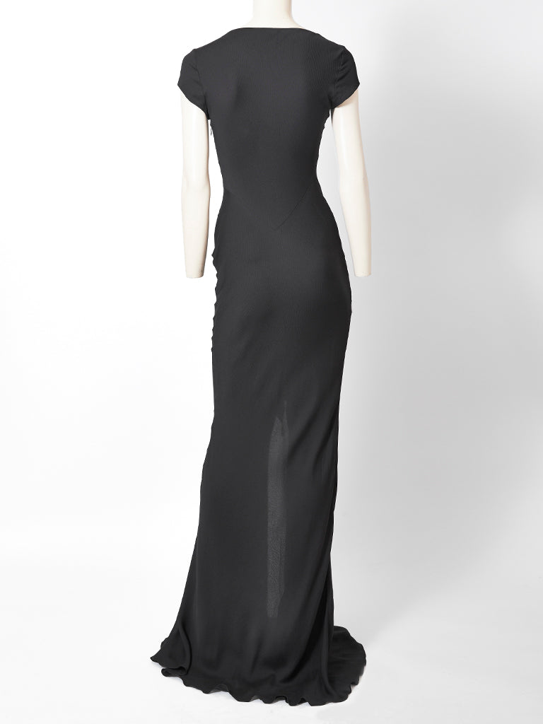 John Galliano Bias Cut Evening Dress