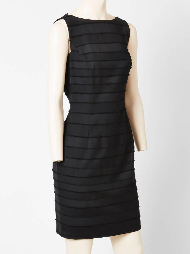 John Galliano Fitted Dress With Frayed Detail