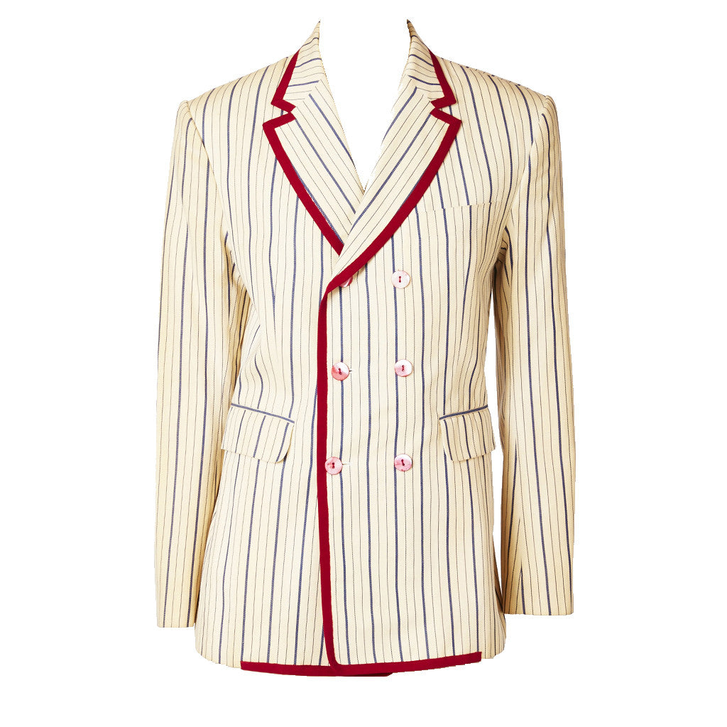 John Galliano Striped Blazer
