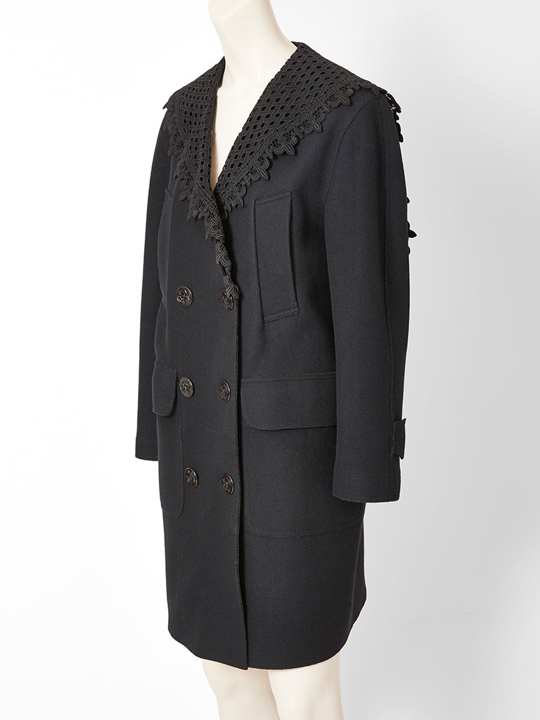 Gaultier Double Breasted Coat