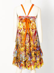 Jean-Paul Gaultier Multitoned Sundress