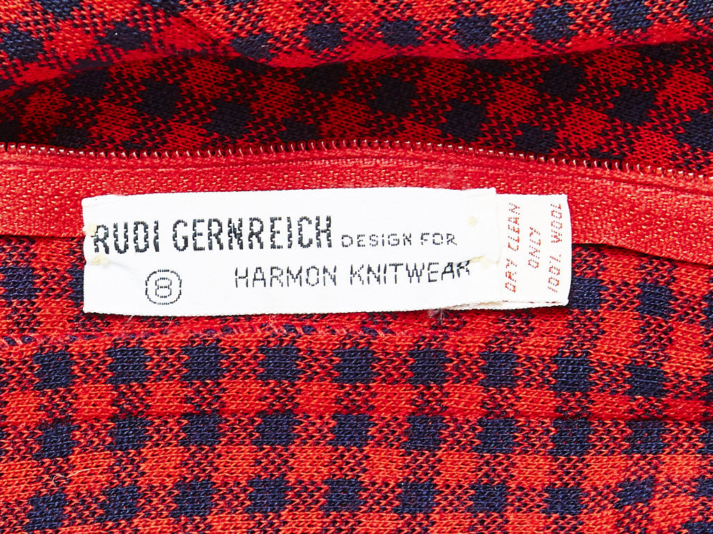 Rudi Gernreich Wool Knit Tunic and Pant Ensemble