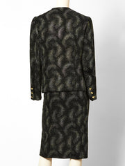 Givenchy Couture Velvet Evening Suit