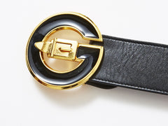 Gucci Signature Buckle Belt
