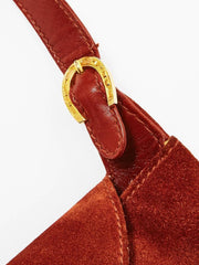 Gucci Suede Shoulder Bag