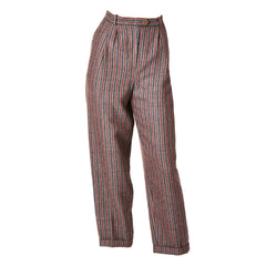 Gucci Wool Tweed Stripe Trouser
