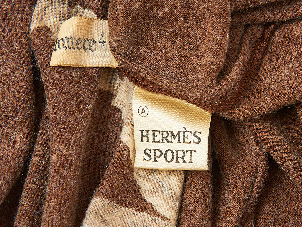 Hermes Sport Cashmere Day Dress