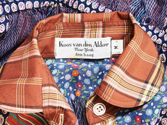 Koos Van Den Akker Cotton Patchwork Ensemble