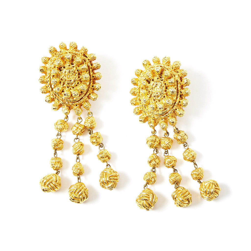 Lacroix Gold  Drop Earrings