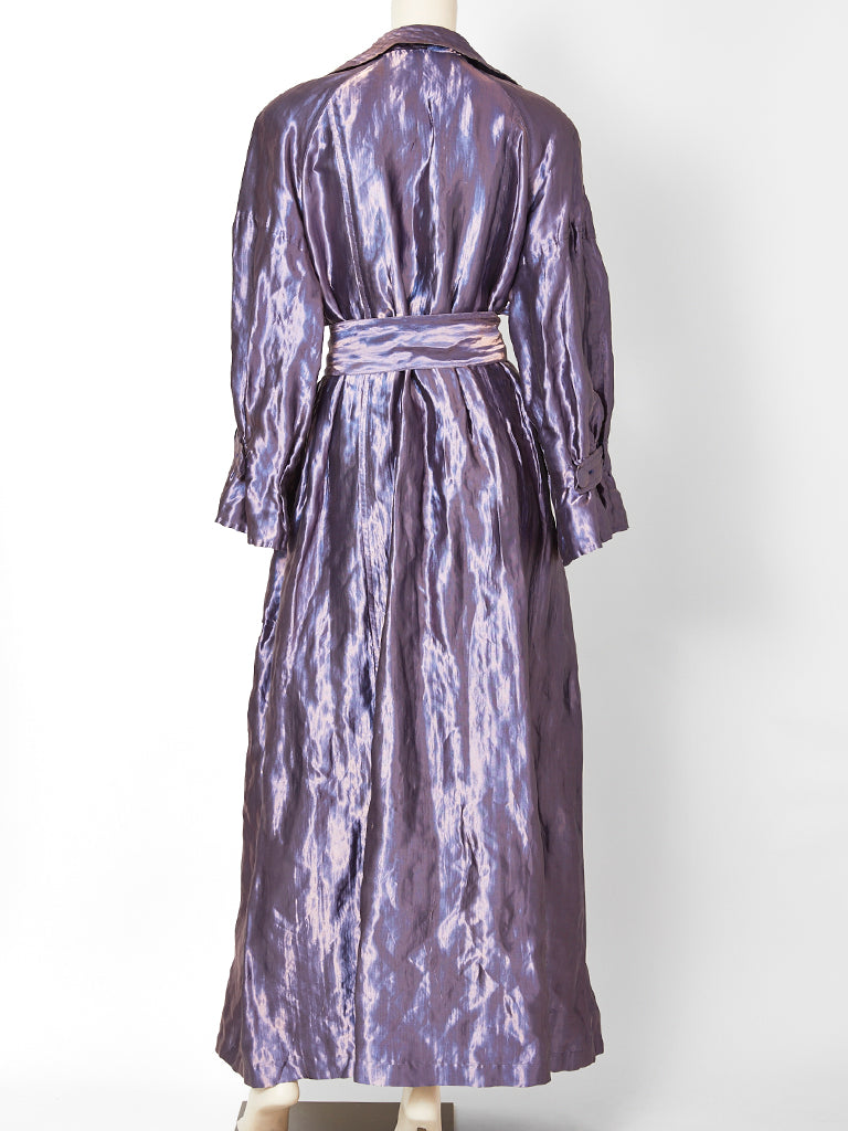 Christian Lacroix Metallic Evening Trench