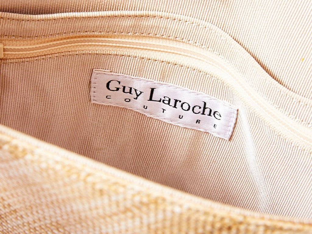 Guy Laroche Raffia Bag