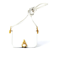 Lieber White Box Leather Small Shoulder Bag