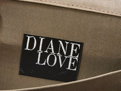 Diane Love Gold Geometric Evening Bag