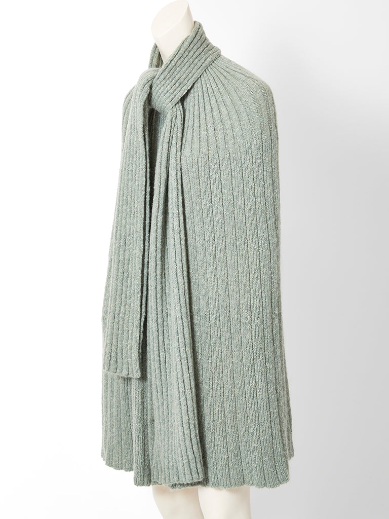 Missoni Ribbed Knit Cape