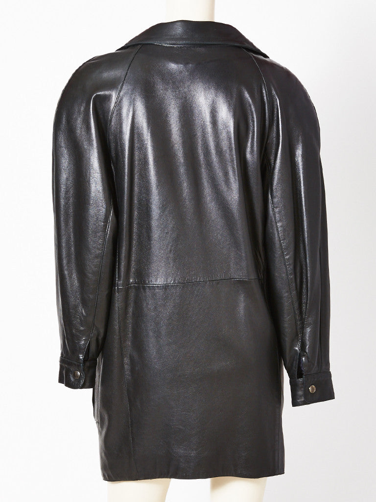 Montana Leather Coat