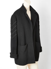 Jean Muir Jacket with Passementerie Sleeve Detail