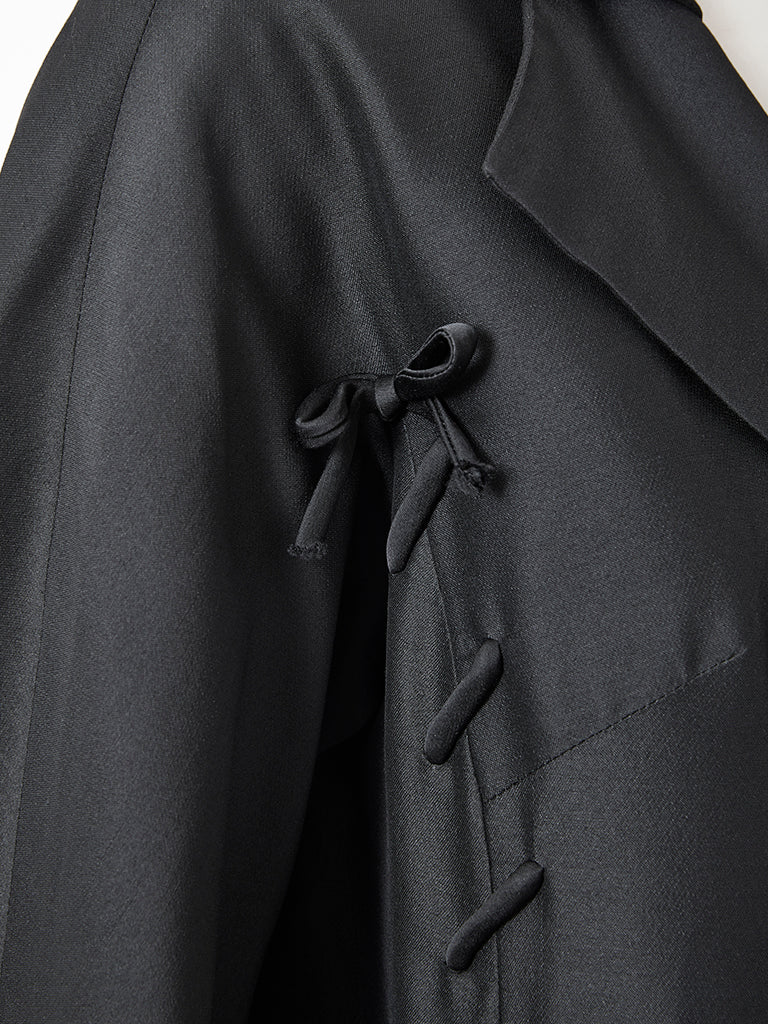 Evening Coat with Lacing Detail, circa 1960s