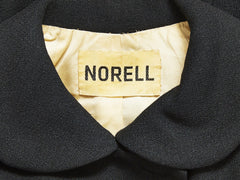 Norell Wool Crepe Dinner Ensemble
