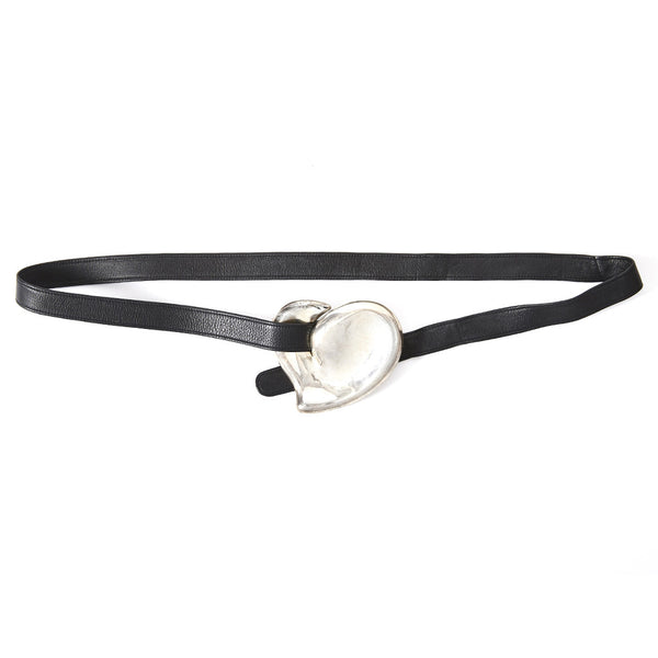 Elsa Peretti for Tiffany and Co. Silver Heart Belt