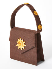 Edouard  Rambaud Chocolate Brown Mini Handbag