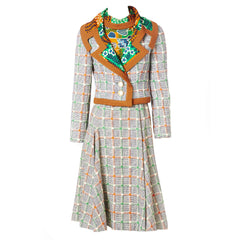 Ronald Amey Dress and Jacket Ensemble