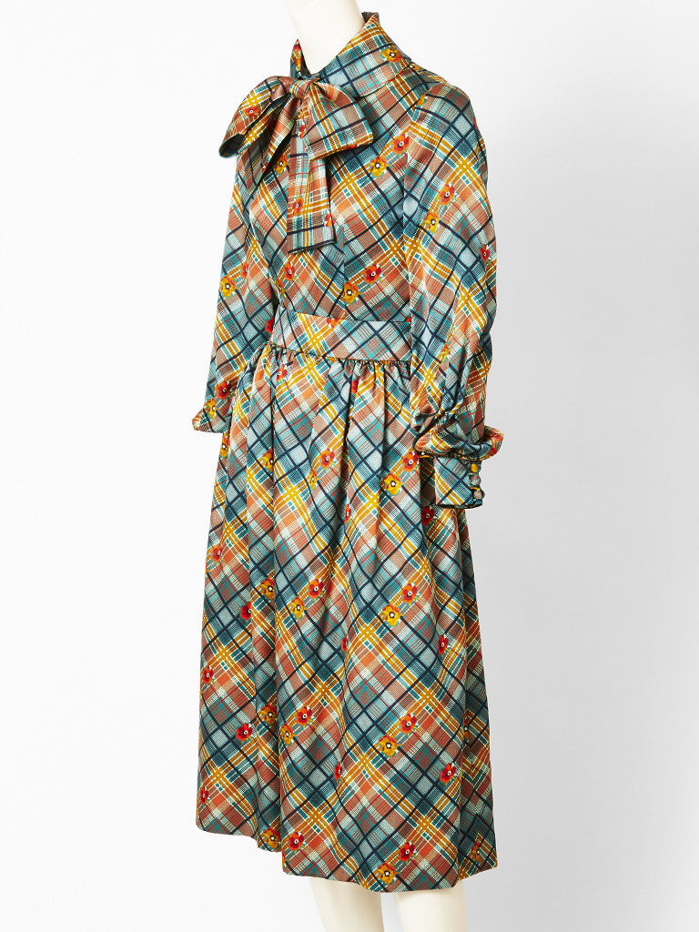 Ronald Amey Plaid Two Piece Ensemble