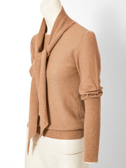 Sonia Rykiel Tie Neck Sweater