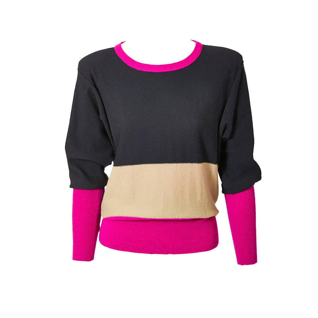 Sonia Rykiel Color Block Sweater