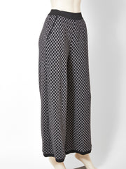 Sonia Rykiel Grey Wool Knit Trouser